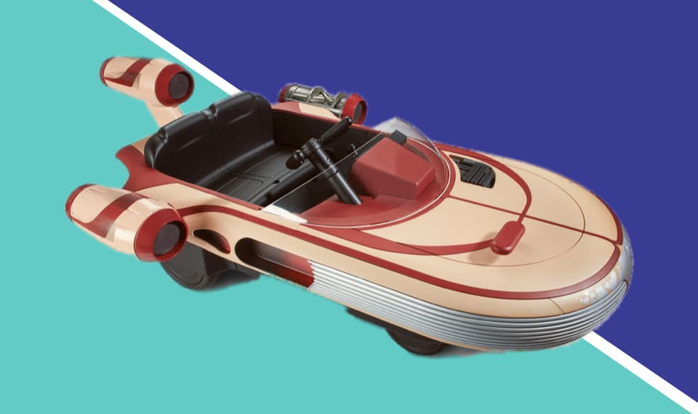 Where to Buy Luke Skywalker's Landspeeder by Star Wars Radio Flyer 2017 - 2018 Toys R Us & Amazon